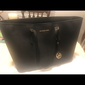 Michael Kors Leather Tote